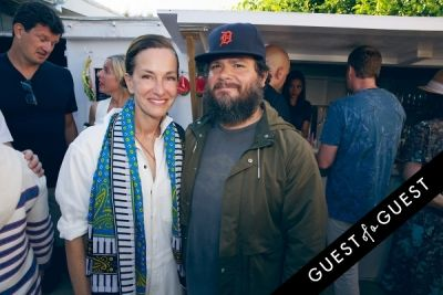 carlos quirarte in Cynthia Rowley co-hosts a beach-backyard party in Montauk with Pret-à-Surf and Sleepy Jones