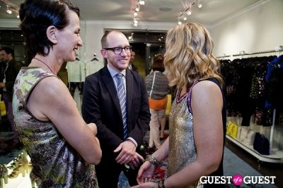 megan m.-evans in The Well Coiffed Closet and Cynthia Rowley Spring Styling Event