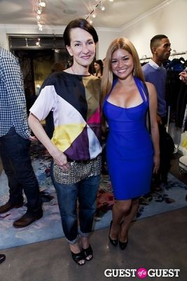 karen koeningsberg in The Well Coiffed Closet and Cynthia Rowley Spring Styling Event