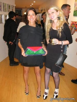 cynthia rowley in Damon Johnson Gallery Opening