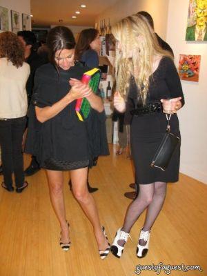 amanda dolan in Damon Johnson Gallery Opening