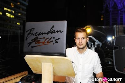dj brendan-fallis in Haven Rooftop ONE Year Anniversary