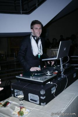 dj christopher-sealey in Fashion for Action with Housing Works