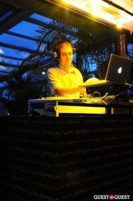 dj kass in VIA SPIGA 25TH ANNIVERSARY EVENT/PARTY