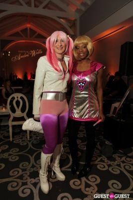 dj neekola in Andre Wells Costume Gala