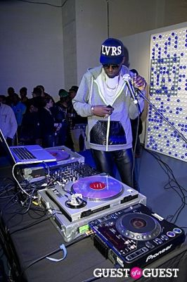 dj theophilus-london in 2011 Wired Store Opening Night Launch Party