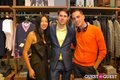 may kwok in United Colors of Benetton and PAPER Magazine celebrate the launch of new Benetton