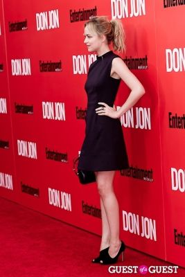 dakota johnson in Don Jon Premiere