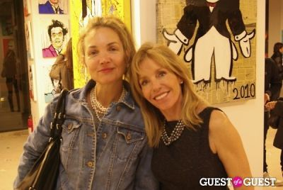 dale and-alexandra in Alec - Monopoly Art Show 2010