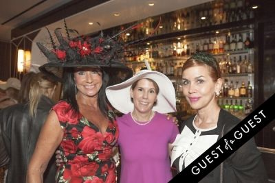debbie dickinson in Socialite Michelle-Marie Heinemann hosts 6th annual Bellini and Bloody Mary Hat Party sponsored by Old Fashioned Mom Magazine