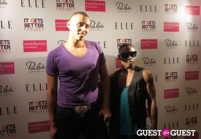 anthony decarlis in Fashion Lounges NYFW11