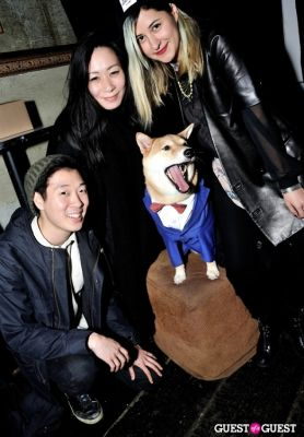 dan joo in Menswear Dog's Capsule Collection launch party