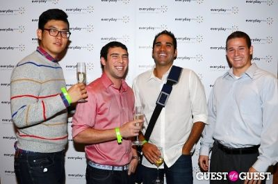 dan kim in The 2012 Everyday Health Annual Party