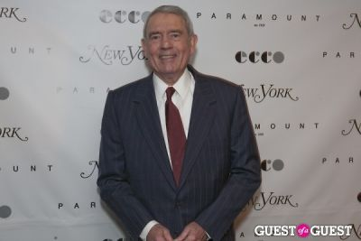 dan rather in My First New York Launch Party