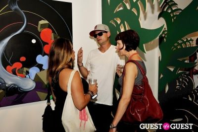 rob russell in Eske Kath - Blackboard Jungle Exhibition Opening Reception