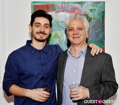 robert salmieri in Robert Salmieri New Works exhibition opening at Galerie Mourlot
