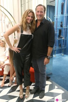 daniela swaebe-and-michael-comras in Sergio Rossi Party at Bal Harbour Shops