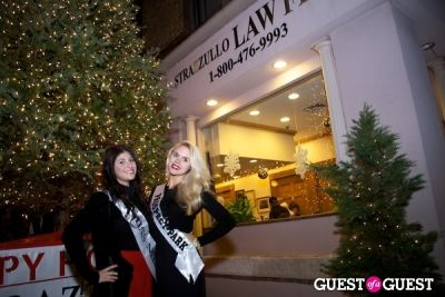danielle draizin in Strazzullo Law Firm annual Christmas Tree Lighting