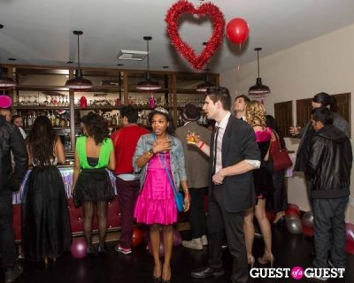 danielle eley in SPiN Standard Presents Valentine's '80s Prom at The Standard, Downtown