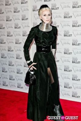 daphne guinness in New York City Ballet Fall Gala Celebrates Valentino