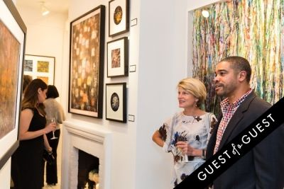 daren briscoe in P Street Gallerie Opening