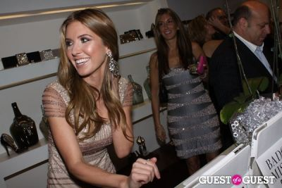 audrina patridge in Badgley Mischka