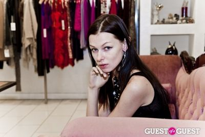 amelia meloni-pr in Mina D Holiday Glamour Party