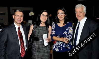 david bilkis in 92Y's Emerging Leadership Council second annual Eat, Sip, Bid Autumn Benefit