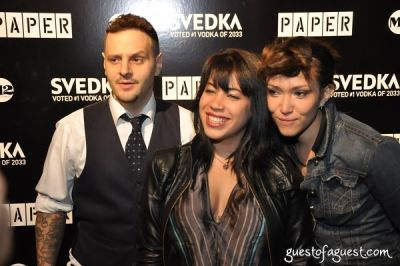 nia mora in Paper Magazine 2009 Nightlife Awards