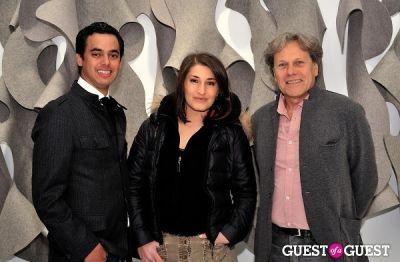 "david farhi in Ricardo Rendon ""Open Works"" exhibition opening"