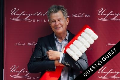 david foster in Unforgettable Smile Ribbon Cutting Ceremony