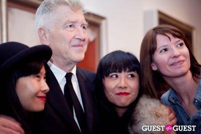 david lynch in David Lynch 'Naming' Opening Reception