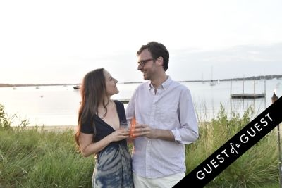 david nugent in Cointreau & Guest of A Guest Host A Summer Soiree At The Crows Nest in Montauk