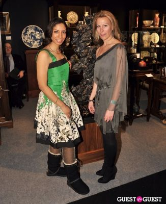dawne marie-grannum in Winter Antiques Show Young Collectors Night