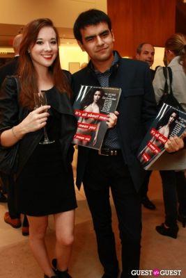 debbie ghandi in Salvatore Ferragamo & W Magazine Benefit