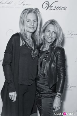 debbie srb in Anna Rothschild's Holiday Party @ Velour