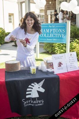 deborah gorman in Hamptons Collective White Party