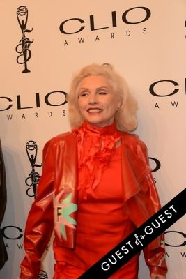 deborah harry in 2014 Clio Awards