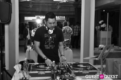 deejay hem in SmartWater Party Glass Bottle Launch Party