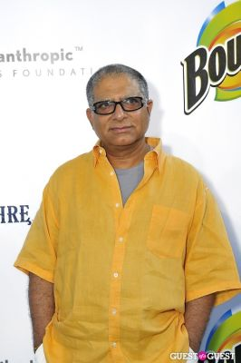 deepak chopra in 11th Annual Art for Life Garden Party