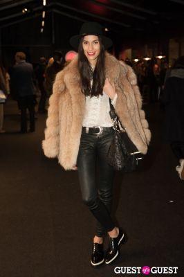 dela kirisome in NYC Fashion Week FW 14 Street Style Day 3