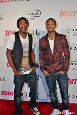 denzel whitaker in 9th Annual Teen Vogue 'Young Hollywood' Party Sponsored by Coach (At Paramount Studios New York City Street Back Lot)