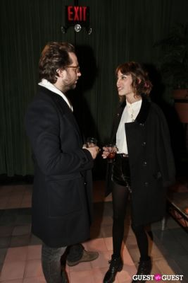 derek blasberg in Alexa Chung for Madewell Party