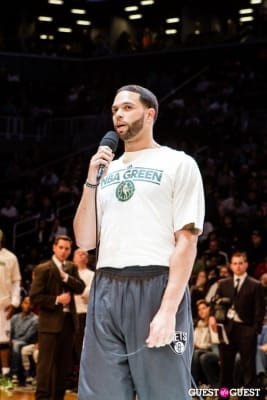 deron williams in Autism Awareness Night at Barclays Center