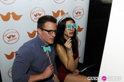 diana falzone in The SWOON App NYC ReLaunch Event