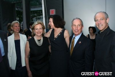 michael bloomberg in MOMA Garden Party