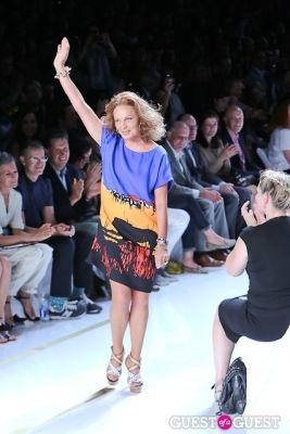 diane von-furstenberg in Diane Von Furstenberg Runway Show