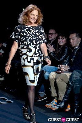diane von-furstenberg in Diane von Furstenberg FW13 Show