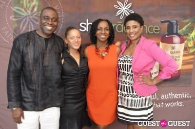 thea washington in Shea Radiance Target Launch Party