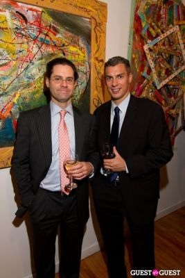 brian heller in Bermano Art Exhibition Hosted By NY Jet Ladainian Tomlinson